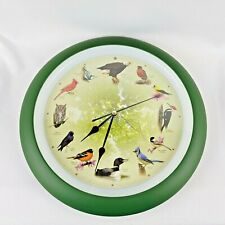 20th Anniversary Singing Bird Clock 34811 Limited Edition Tested Works