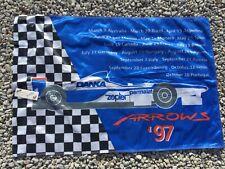 "Formula 1 racing flag collector's item Danka Arrows Parmalat Zepter 30"" x44"""