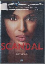 Scandal: The Complete First Season (DVD, 2012, 2-Disc Set) BRAND NEW