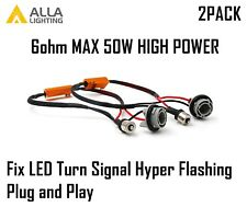 AllaLighting 1156 7506 50W Load Resistor Fix LED Turn Signal Hyper Flashing Fast