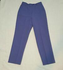 Womens Larry Levine Suits size 10 Purple Career Dress Pants Slacks