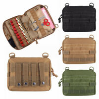 Tactical Molle Utility Pouch Medical Magazine Bag Tool Organizer Storage Holster