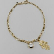 figacho chain&hamsa charm bracelets or anklet New high quality 18K gold filled