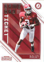 Calvin Ridley 2018 Panini Contenders Draft Picks Game Day Tickets #10