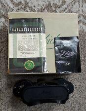 Swarovski Habicht 10×40 mit einzelnen okular einstellüng und original Box