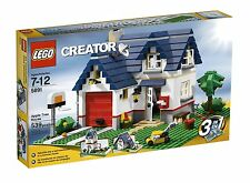 NEW IN BOX SEALED Lego Creator Apple Tree House ( 5891) Retired Rare 539 pieces