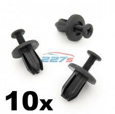 10x 7mm Square Hole Plastic Trim Clips for some Honda Dashboard & Trim Panels