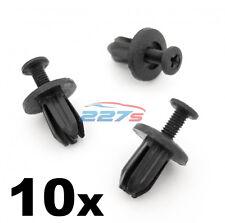 10x 7mm Foro Quadrato Plastica Tagliare Clip per alcuni HONDA dashboard e Finiture Pannelli