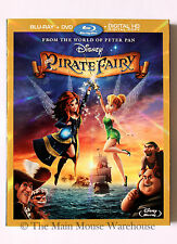 TinkerBell The Pirate Fairy Blu-ray DVD Digital Copy Crocodile Mini Documentary
