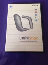 Microsoft Office Mac 2004 Student & Teacher Edition al por menor con clave de producto