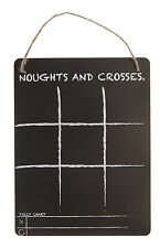 Classic Noughts & Crosses Game Chalkboard Children's Road Trip Car Journey Toy