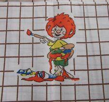 Pumuckl Kinder Bettwäsche NEU 80er Kids Bedding Fabric Figur Vintage Stoff 80s
