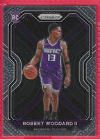 2020-21 Prizm Robert Woodard II Rookie RC #281 Sacramento Kings