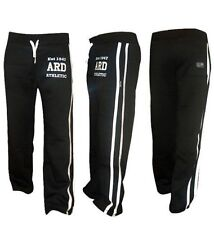 Men's Joggers Cotton Fleece Jogging Trousers Pants Track Suit Bottom MMA Boxing
