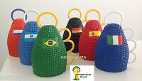 Caxirola Mondiali Brasile 2014 Sport Italia Vuvuzela 2014 di 6 Paesi Belle Rare