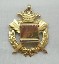 Vintage 9ct Heavy Solid Gold Accrington Alexandra Lodge RAOB buffaloes medal