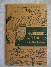 1953 Lee'S Official Guidebook To The Black Hills And The Badlands Booklet