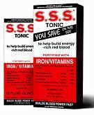 SSS  Tonic Liquid -  20 Oz  iron and b complex vitamin