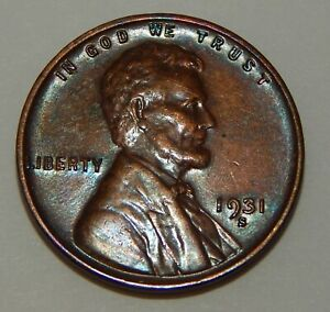 1931-S - Lincoln Wheat One Cent - 1¢