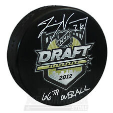Jimmy Vesey New York Rangers Signed Autographed 2012 NHL Draft Puck