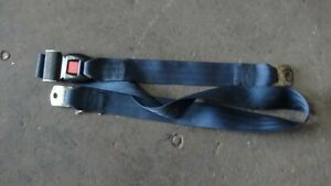 "Seat Belt Universal Lap Adjustable 23"" - 61"" School Bus 2 point - Blue"