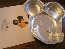 Wilton MICKEY MOUSE Face Cake Pan Mold #2105-7070 w/ Instructions