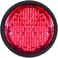 Mini Chip Reflektor Katzenauge Rückstrahler 30 mm rot selbstklebend HR 14022