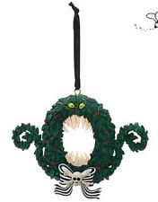 NUOVO con etichetta Disney Store CORONA NIGHTMARE BEFORE CHRISTMAS TREE DECORATION 2017