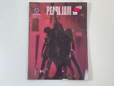 "Pearl Jam ""ten"" Sheet Music for Guitar 1992 Vintage"