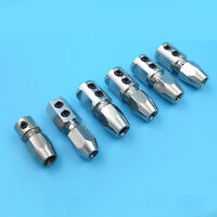 For RC Boat 3.18*4/4*4/ 5*4/5*4.76MM Forward/Backward Motor Shaft Coupler Parts
