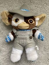 """Gremlins Gizmo PTS Plush Coveralls Cowboy Hat 19"""" 1997 Gremlins Warner Bros"""