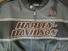 Harley Davidson Leather Coat (Rare & Mint) XXLT 2XLT XXLTALL 98056-13VT