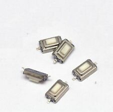 100pcs 3x6x2.5mm Tactile Push Button Switch Tact Switch Micro Switch 2 Pin SMD