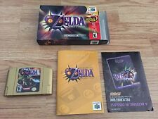 The Legend of Zelda: Majora's Mask  (Nintendo 64, 2000) N64 Cib With Manual NCIB