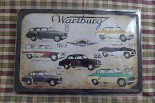 Wartburg Car Tin Metal Sign Painted Poster Comics Book Superhero Wall Art Hobby