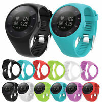 Replacement Silicone Watch Band Wrist Fit For Polar M200 Fitness Bracelet