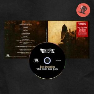 VINNIE PAZ: BURN EVERYTHING THAT BEARS YOUR NAME (CD *PRE-ORDER*.)