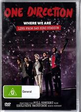 ONE DIRECTION (1) Disc DVD Full Concert WHERE WE ARE LIVE FROM SAN SIRO Video 1D