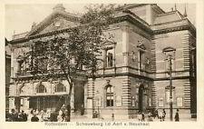 Carte postale rotterdam schouwburg Aert van nesstraat pour 1935