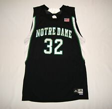 Adidas Notre Dame Fighting Irish Team Issue Game Basketball Jersey Sz. 48 Worn