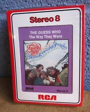 GUESS WHO vtg Way They Were 8-track cassette tape 1976 new Canada rock Palmyra