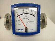 Krohne H250hrrm9 Flowmeter Na 1 150 316316l Flange New