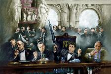 Scarface,Godfather,Goodfellas,Sopranos,Al Pacino,Marlon Brando,Canvas by Star