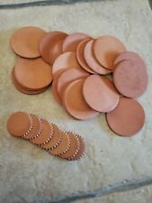 TANDY Leather Crafts Lot NEW - 7 Small Rounds + 20 Med rounds