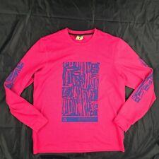 Nike NikeLab ACG Waffle Thermal Long Sleeve Shirt Pink Royal Blue Men's Large
