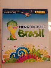 Panini World Cup Brazil Brasil 2014 Empty Album w/sheet form + 10 free stickers
