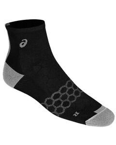 Asics Speed Quarter Socks Running, Performance Black