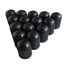 50Pcs Car SUV Auto Black Plastic Wheels Tire Valve Stem Cap Lid Air Dust Cover
