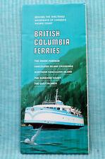 British Columbia Ferries - Map - 3/70