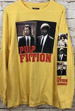 Pulp Fiction Shirt men Large new long sleeve John Travolta samuel Jackson tee K3